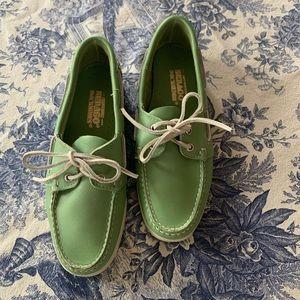 Sebago Women's Docksides Seafoam Green Boat Shoes